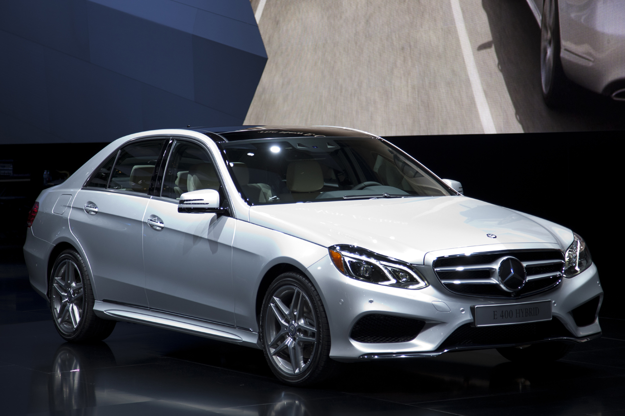2014 mercedes benz e class lineup shows its freshened face