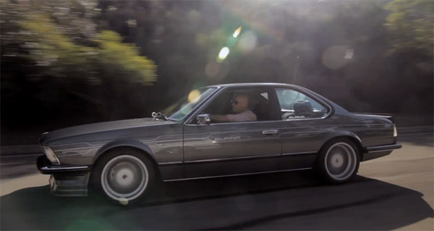 Classic Alpina BMW in profile - driving - Petrolicious video screencap