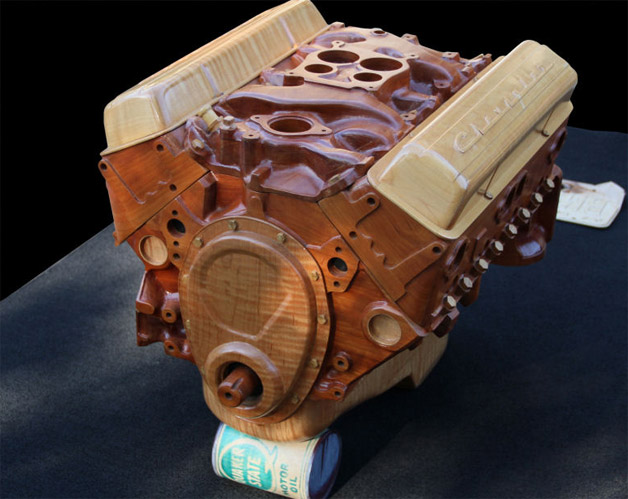 Brandenburg Wooden V8