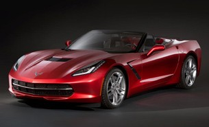 Chevrolet Corvette Stingray Convertible - alleged leaked image