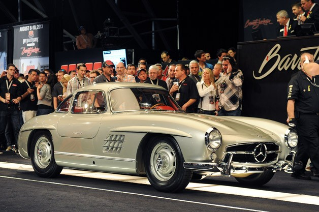Clark Gable's 1955 Mercedes-Benz 300SL Gullwing