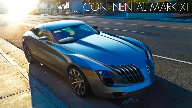 Lincoln Continental Mark X1 Concept