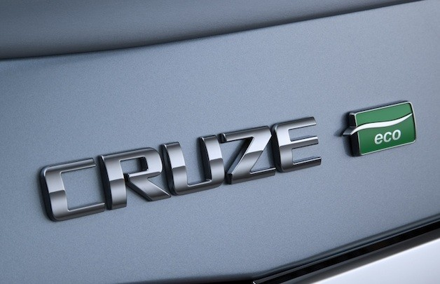 Chevy Cruze Eco badge