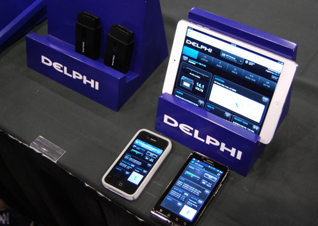 Smart Phone control of your E46 is coming from Delphi