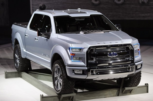 Ford Atlas Concept Carries The Weight Its Shoulders