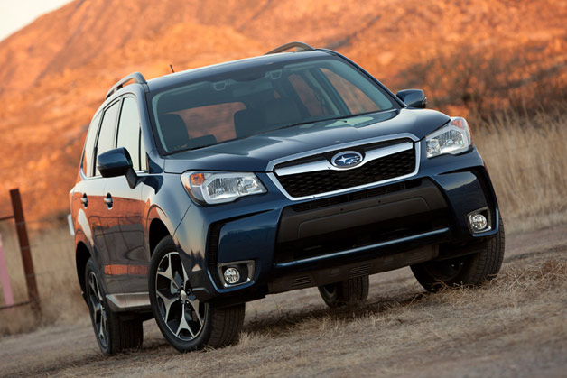 2014 Subaru Forester - front three-quarter view
