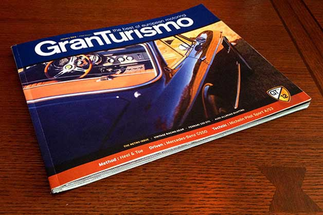 GranTurismo pilot magazine issue