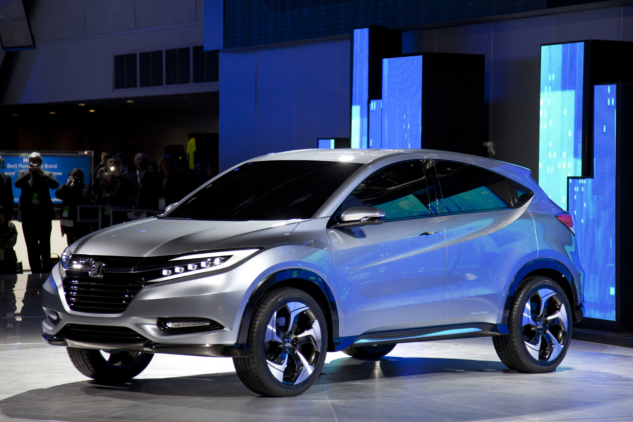 honda urban suv concept previews fit based crossover autoblog. Black Bedroom Furniture Sets. Home Design Ideas