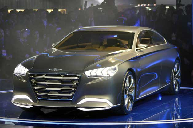 Hyundai HCD-14 concept revealed at 2013 Detroit Auto Show