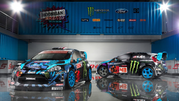 ken block rally cars go blue in the face and everywhere else. Black Bedroom Furniture Sets. Home Design Ideas