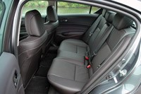 2013 Acura ILX rear seats