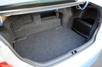 2013 Toyota Camry Hybrid trunk