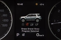2013 Land Rover LR2 driving mode display