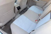 2013 Toyota Camry Hybrid rear seats