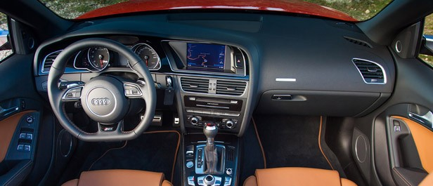 2014 Audi RS5 Cabriolet interior