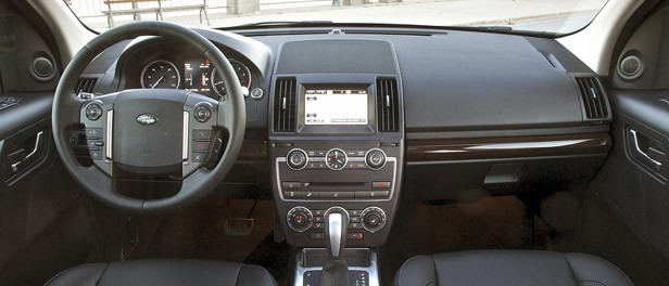 2013 Land Rover LR2 interior