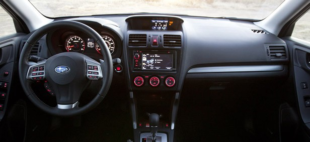 2014 Subaru Forester XT interior