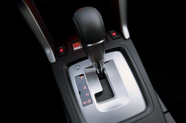 2014 Subaru Forester XT shifter