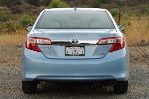 2013 Toyota Camry Hybrid rear view