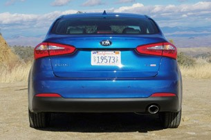 2014 Kia Forte rear view