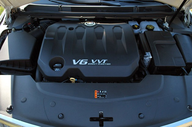 2013 Cadillac XTS engine