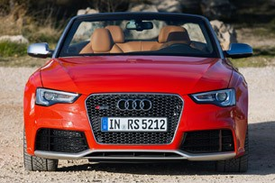 2014 Audi RS5 Cabriolet front view