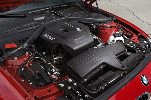 BMW 1 Series 3-cylinder engine