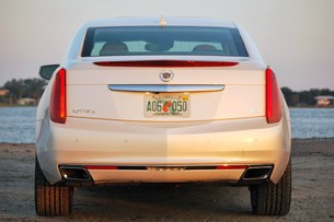 2013 Cadillac XTS rear view