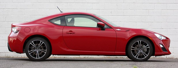 2013 Scion FR-S side view