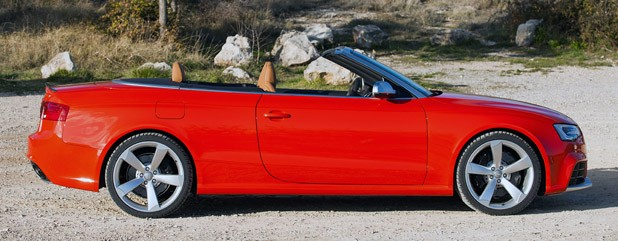 2014 Audi RS5 Cabriolet side view