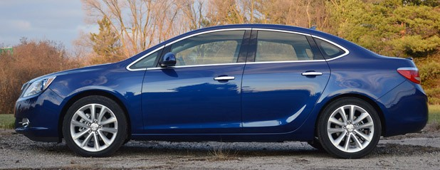 2013 Buick Verano Turbo side view
