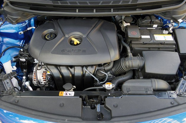 2014 Kia Forte engine