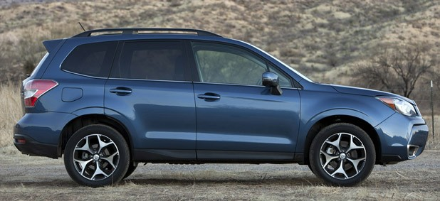2014 Subaru Forester XT side view