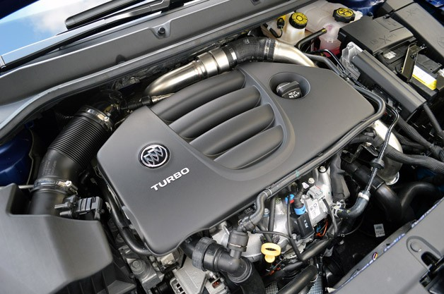 2013 Buick Verano Turbo engine