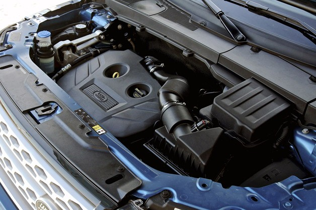 2013 Land Rover LR2 engine