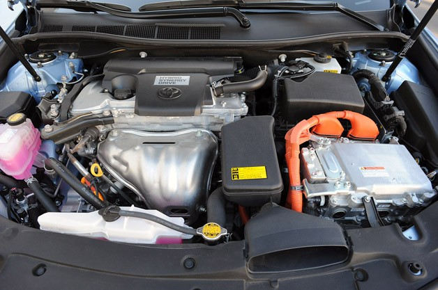 2013 Toyota Camry Hybrid engine