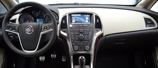 2013 Buick Verano Turbo interior