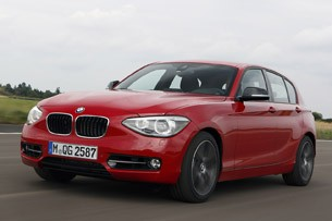 BMW 1 Series 3-cylinder driving