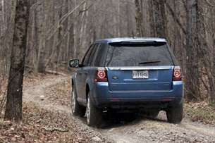 2013 Land Rover LR2 off-road