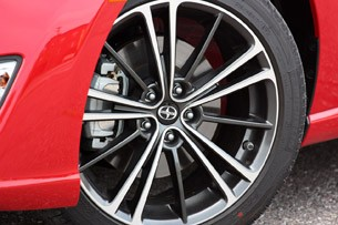 2013 Scion FR-S wheel