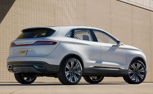 Lincoln MKC Concept - rear three-quarter view