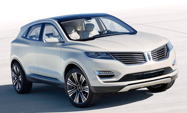 Lincoln MKC Concept - front three-quarter view