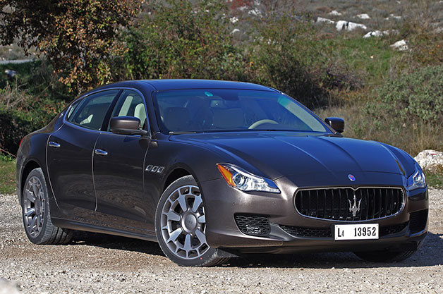 2014 Maserati Quattroporte - front three-quarter view