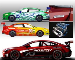 2014 Mazda6 teams at the Daytona 24 Hours