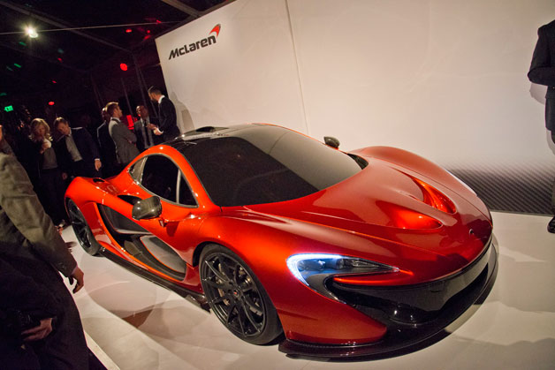 McLaren P1 concept - live at private event in Beverly Hills