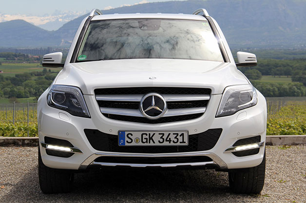 2013 Mercedes-Benz GLK - dead-on front view