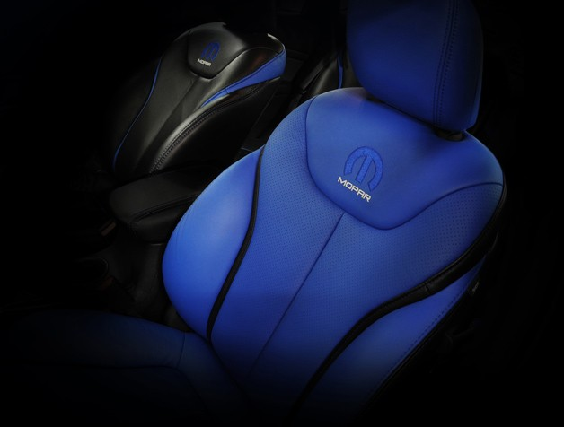 Mopar teaser - embroidered seat