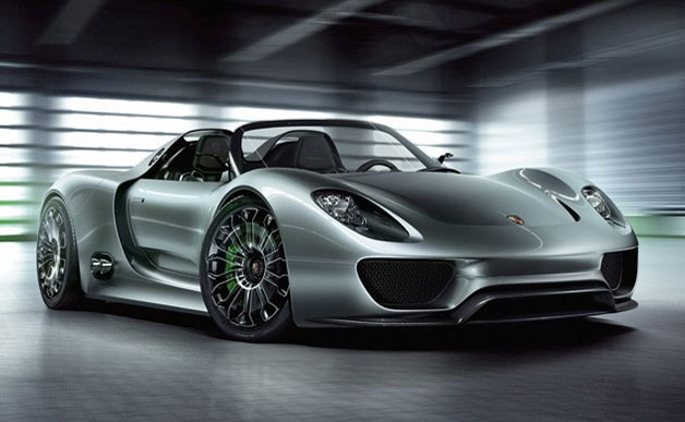 Porsche 918 Spyder concept - front three-quarter view