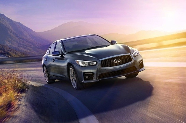 Infiniti official website