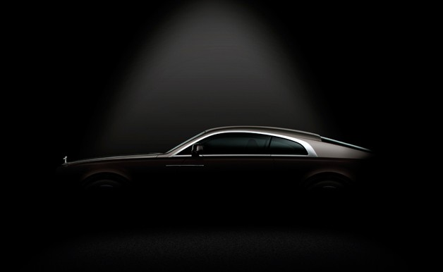 Rolls-Royce Wraith Teaser #1 - profile